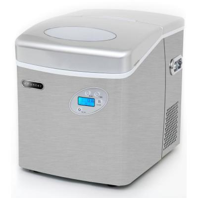 ... lb. Portable Ice Maker in Stainless Steel-IMC-490SS - The Home Depot