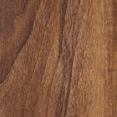 Hampton Bay Hand Scraped Walnut Plateau 8 mm Thick x 5-9/16 in. Wide x 47-3/4 in. Length Laminate Flooring (18.45 sq. ft. / case)