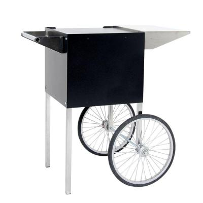 Paragon Professional 4 oz. Small Popcorn Cart in Black