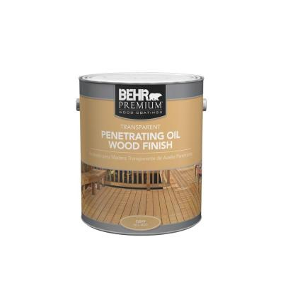 1 gal. #4000 Transparent Penetrating Oil Wood Finish Clear Exterior Stain