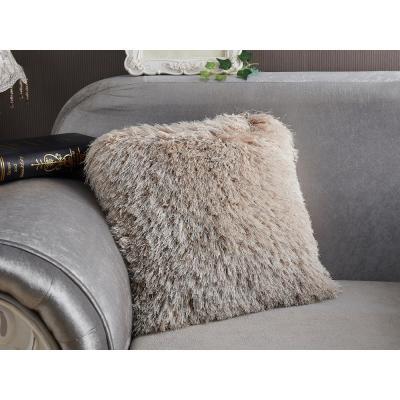 Decorative Shaggy Pillow 100% Polyester