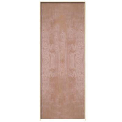 Masonite 30 In X 80 In Smooth Flush Hardwood Hollow Core Birch Veneer Composite Single Prehung