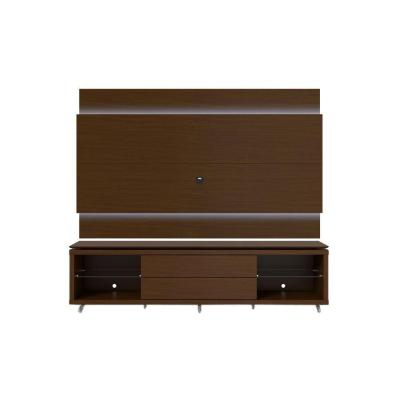 Lincoln 1.9 25-Disc Capacity TV Stand and Lincoln Floating Wall TV
