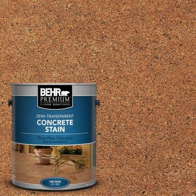 1-gal. #STC-21 Warm Shale Semi-Transparent Concrete Stain