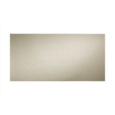 Connect 96 in. x 48 in. Decorative Wall Panel in Fern