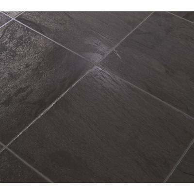 Dupont black slate 8 mm thick x in wide x in for Dupont laminate flooring