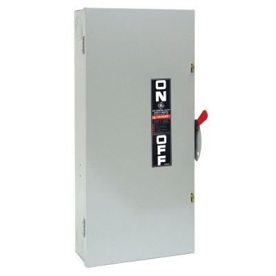 GE 200 Amp 240-Volt Non-Fuse Indoor Safety Switch