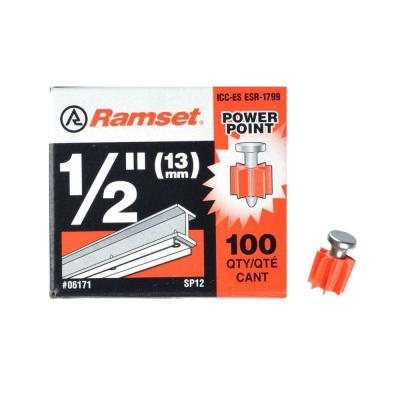 Ramset 1/2 in. PowerPoint Pins (100-Pack)