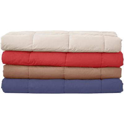 Summer Warmth Packable Down Throw
