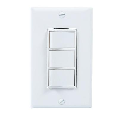 Broan-NuTone White 4-Function Wall Control