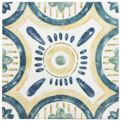 Bourges Isola 7-3/4 in. x 7-3/4 in. Ceramic Wall Tile (10.76