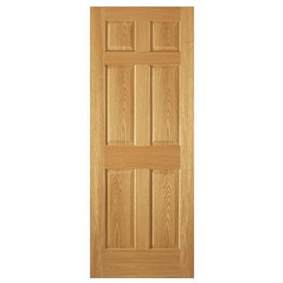 steves amp sons 6 panel unfinished red oak interior door home depot french doors solid oak best home design and