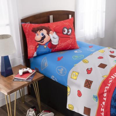 Caps Off Multicolo Comforter Set