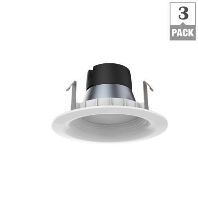 65W Equivalent Soft White 4 in. E26 Dimmable Downlight LED Light
