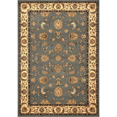 Dynasty Gray/Beige 5 ft. 2 in x 7 ft. 6 in. Area Rug Product Photo