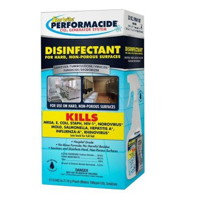 Performacide 32 oz. Disinfectant Spray Kit for Hard Non-Porous Surfaces Product Photo