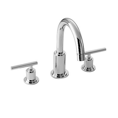 Jado New Haven 8 In Widespread 2 Handle High Arc Bathroom Faucet In Polished Chrome