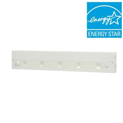 18 in. White LED Dimmable, Linkable Under Cabinet Light