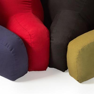 Cotton Duck Bed Rest Pillow
