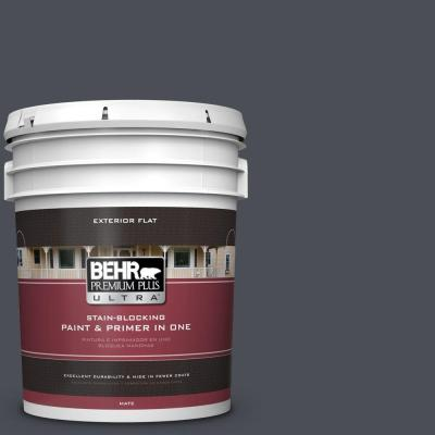 5-gal. #PPU15-20 Poppy Seed Flat Exterior Paint