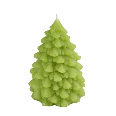 null 7 in. Green Pine Tree Candle