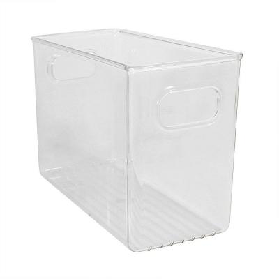 10 in. x 4 in. x 6 in. Clear Linus Fridge