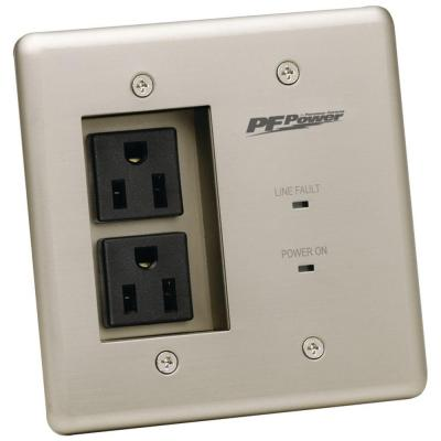 2-Outlet In-Wall Power Pro Product Photo