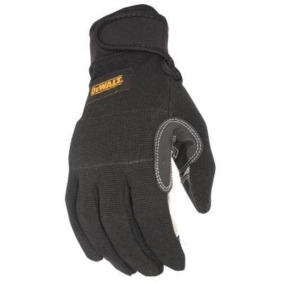 Black General Utility Work Glove