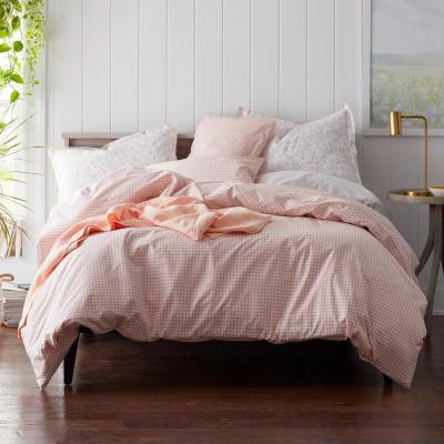 Kirby Basketweave Cotton Percale Duvet Cover