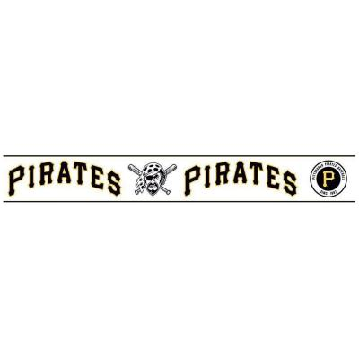 Boys Will Be Boys II 6 in. Pittsburgh Pirates Border Product Photo