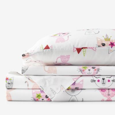 Caticorn Company Essentials Organic Cotton Percale Sheet Set
