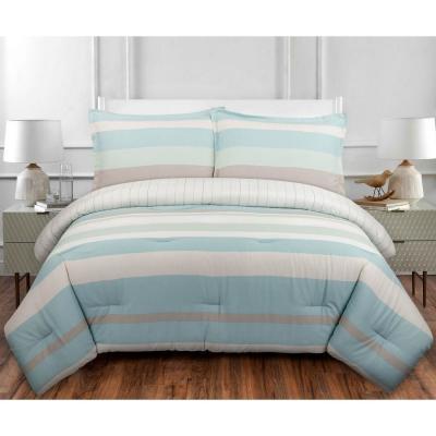 Coastal Stripe Comforter Set