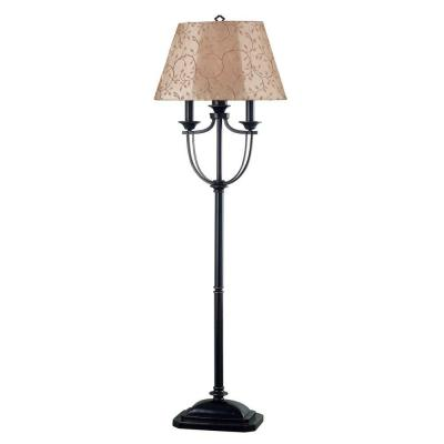 Kenroy Home Belmont 58 in. Outdoor Oil Rubbed Bronze Floor Lamp