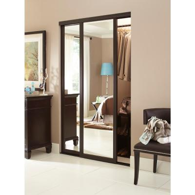 Serenity Hardwood Frame Duraflect Mirror Interior Sliding Door