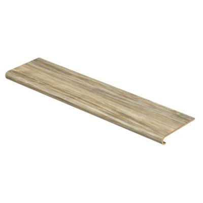 Red Cherry 94 in. Long x 12-1/8 in. Deep x 1-11/16 in. Height Vinyl to Cover Stairs 1 in. Thick Product Photo