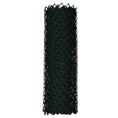 4 ft. x 50 ft. 9-Gauge Black Chain Link Fabric Product Photo