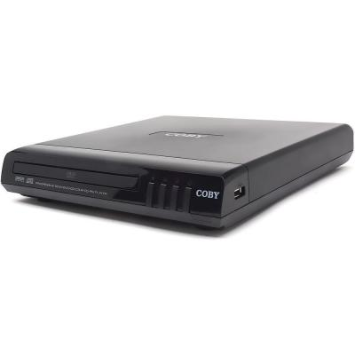 Coby 2 Channel Compact DVD Player with Progressive Scan-DISCONTINUED
