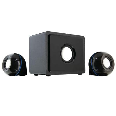 gpx 2 1 channel home theater speaker system ht12b the home depot. Black Bedroom Furniture Sets. Home Design Ideas