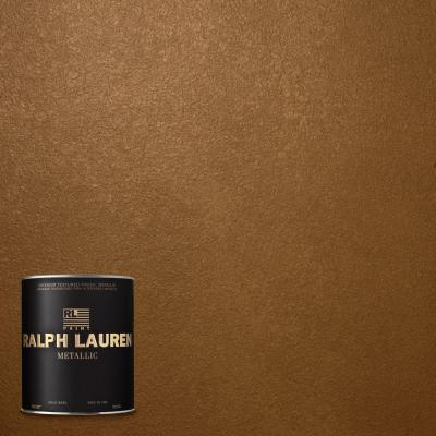 1-qt. Lush Brown Metallic Specialty Finish Interior Paint