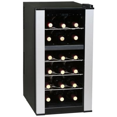 Vinotemp 35 in. 18-Bottle Dual Zone Thermoelectr..