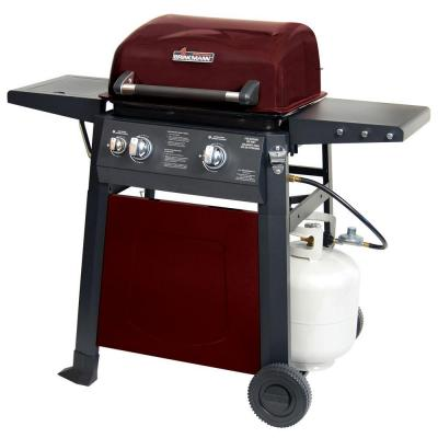 Brinkmann 2 burner propane gas grill 810 4220 s the home depot - Home depot bbq propane ...