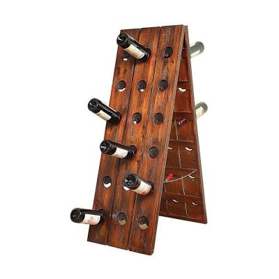 Home Decorators Collection 48 in. H x 16. in. W Picardy Wine Glass Rack-DISCONTINUED