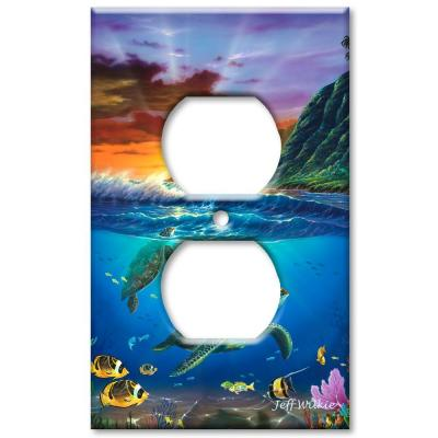 Art Plates Sea Turtles - Outlet Cover