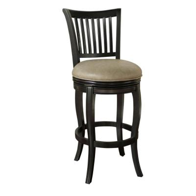Maxwell 30 in. Bar Stool in Black Product Photo