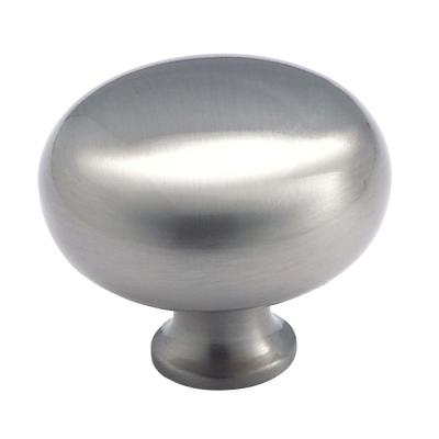 Amerock Traditional Classics 1-1/2 in. Satin Nickel Round Cabinet Knob