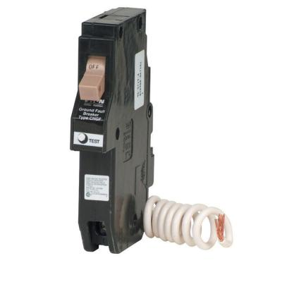 20-Amp 3/4 in. Single Pole Type CH GFCI Circuit Breaker Product Photo