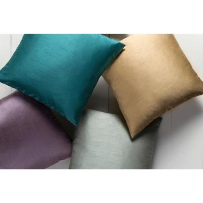 Visoko Solid Polyester Throw Pillow