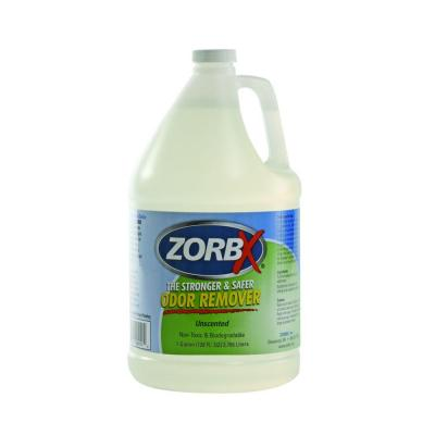 Zorbx 1 gal. Unscented Non-Toxic Hypo-Allergenic and Biodegradable Odor Remover