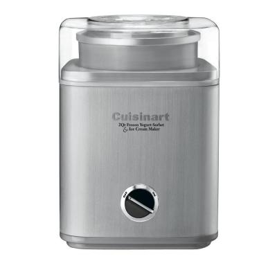 Cool Creations Ice Cream Maker in Stainless Steel