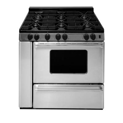 ProSeries 36 in. 3.91 cu. ft. Battery Spark Ignition Gas Range